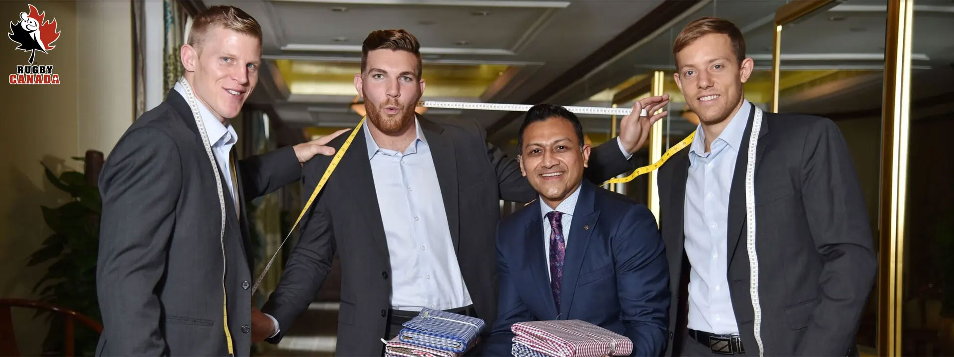 Maxwell's Clothiers Official Formal Wear Sponsor for Rugby Canada