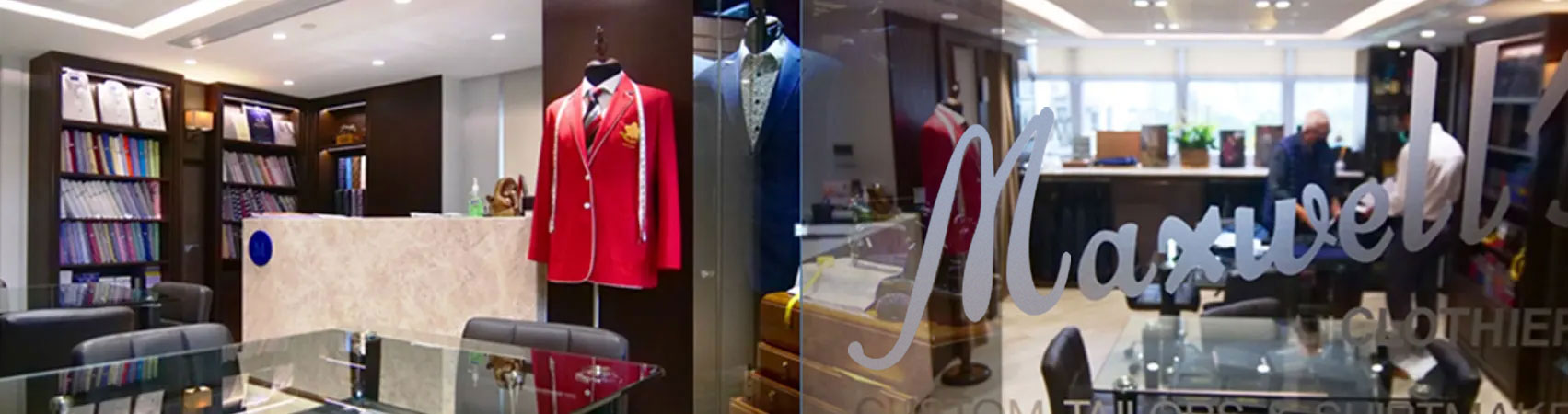 Maxwell's Clothiers Book a Virtual Appointment